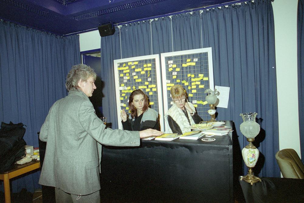Werner Ružička, Gudrun Sommer, Rita Groß v.l. © Hendrik Lietmann