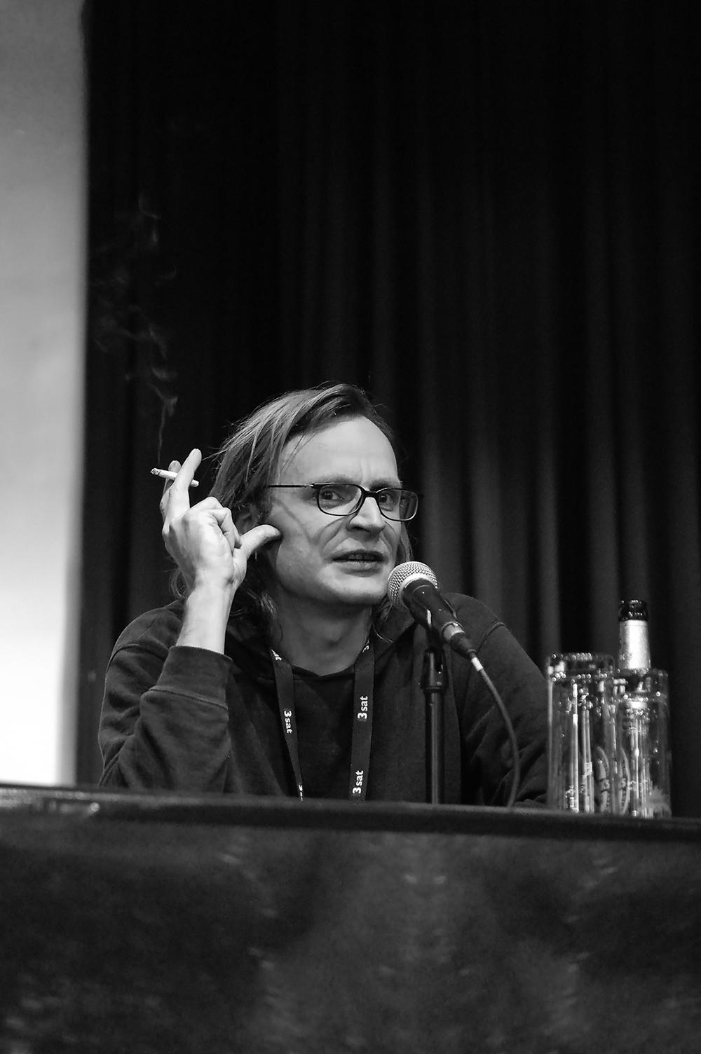 Philip Scheffner © Duisburger Filmwoche, Foto: Simon Bierwald