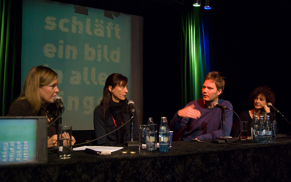 Kristina Konrad r. © Duisburger Filmwoche, Foto: Simon Bierwald