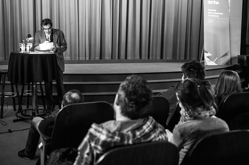 Harun Farocki © Duisburger Filmwoche, Foto: Simon Bierwald