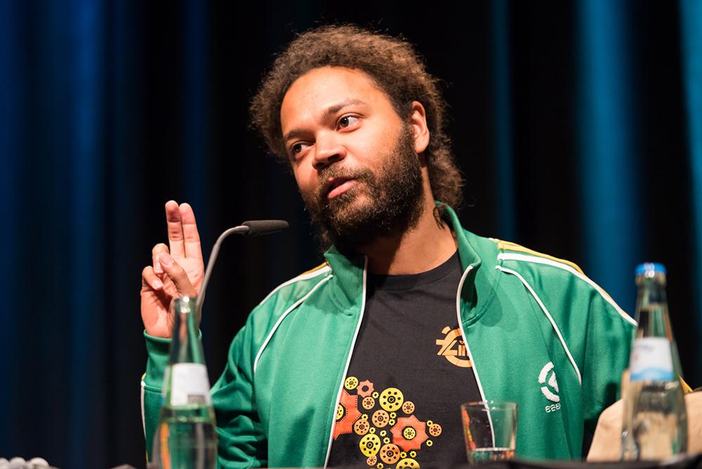 Jide Tom Akinleminu © Duisburger Filmwoche, Foto: Simon Bierwald