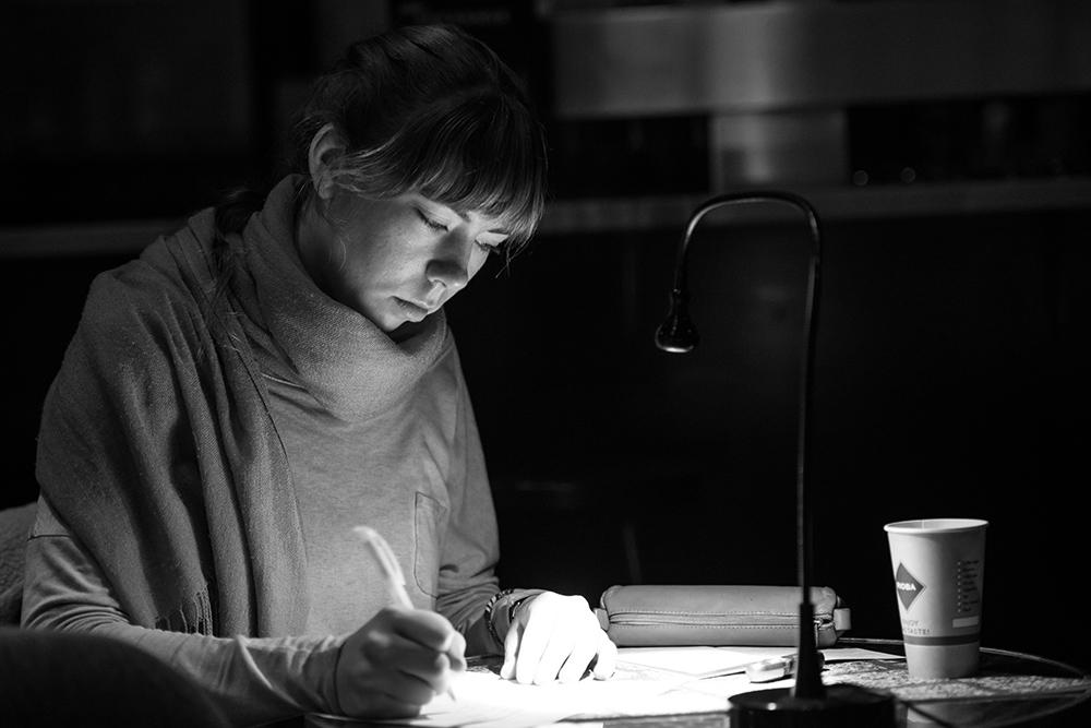 Iris Fraueneder © Duisburger Filmwoche, Foto: Simon Bierwald