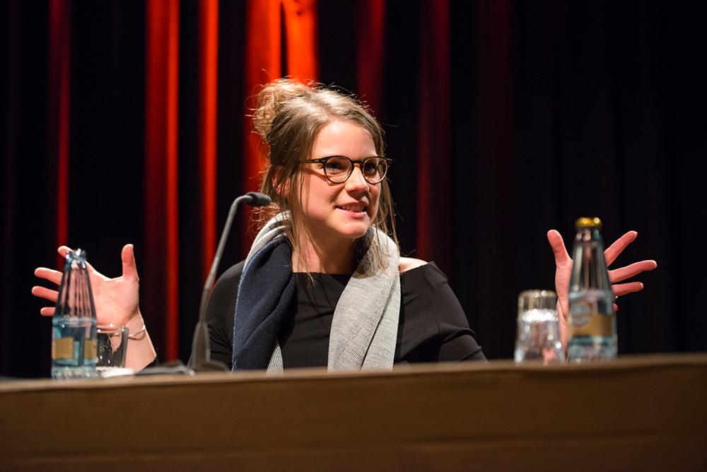 Carolin Genreith © Duisburger Filmwoche, Foto: Simon Bierwald