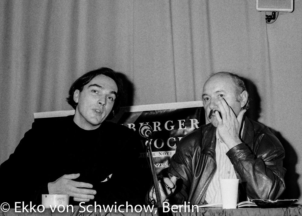 Gerd Kroske, Karl Sauer v.l. © Ekko von Schwichow