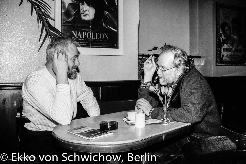 Peter Nestler, Klaus Wildenhahn v.l. © Ekko von Schwichow