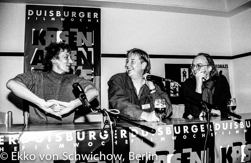 Werner Ružička, Peter Braatz, Dierich Leder v.l. © Ekko von Schwichow