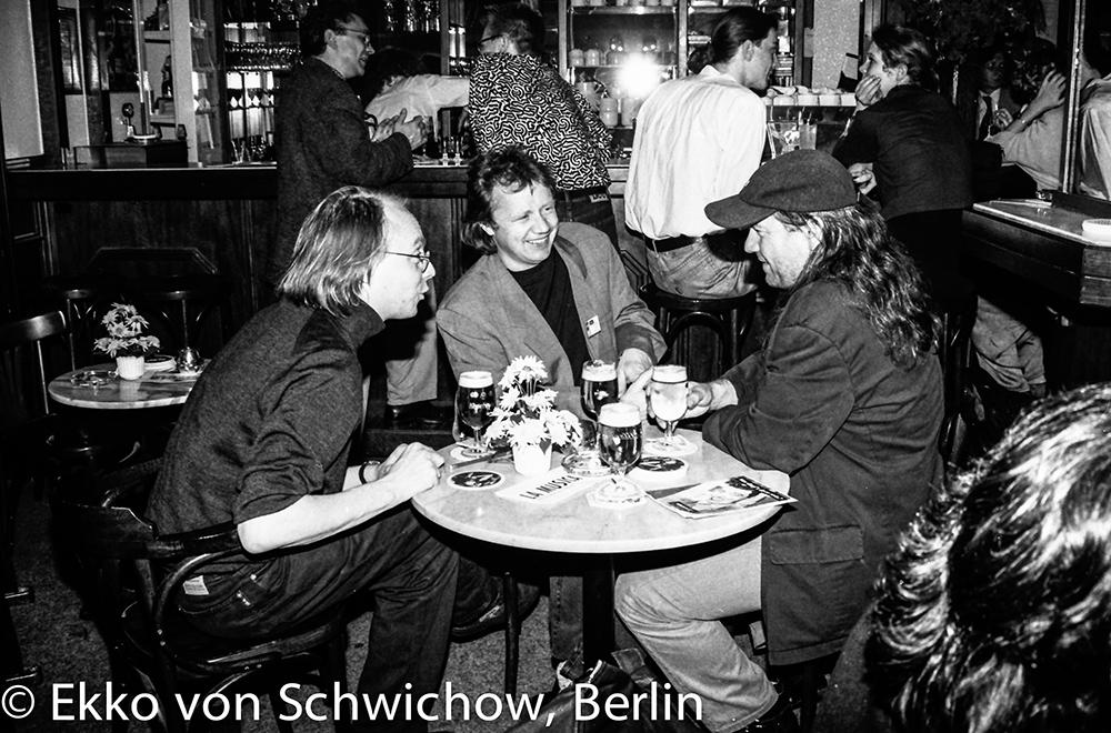 Dietrich Leder, Werner Schweizer, Didi Danquart v.l. © Ekko von Schwichow