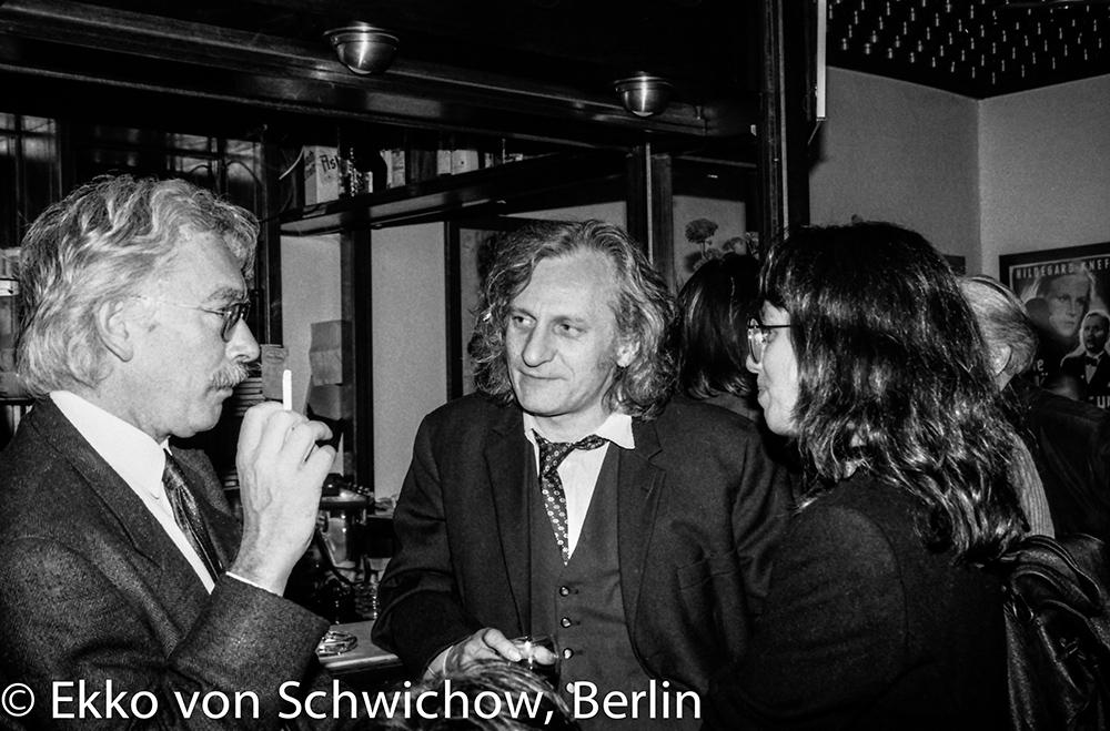 Friedrich Kittler, Siegfried Zielinski v.l. © Ekko von Schwichow