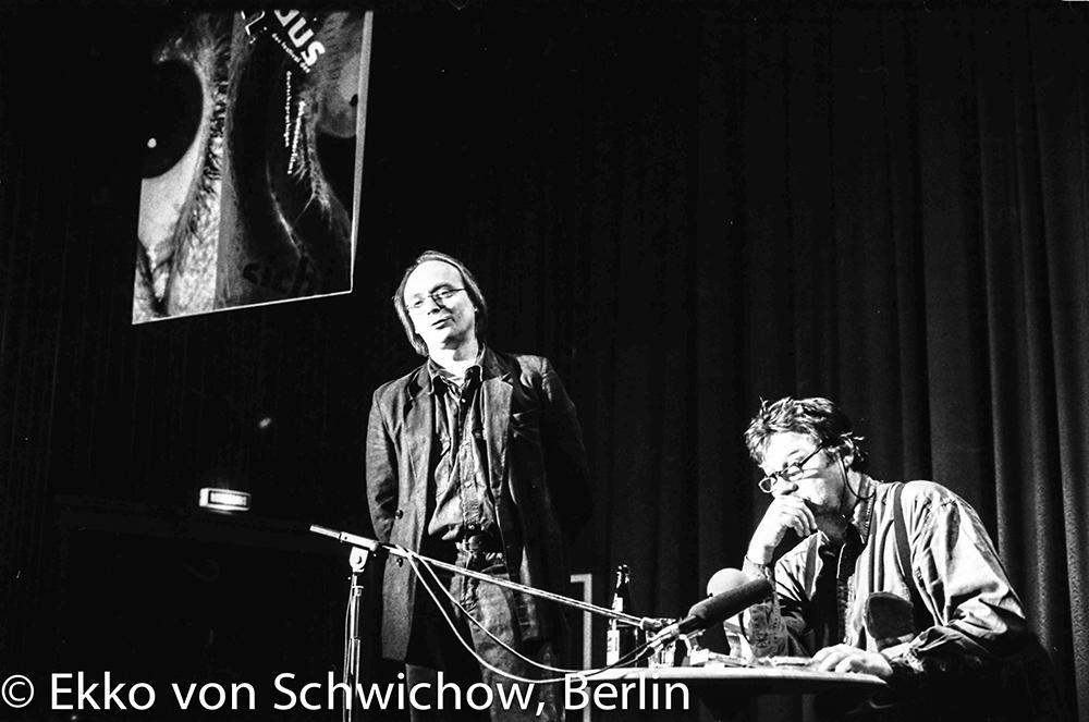 Dietrich Leder, Hartmut Bitomsky v.l. © Ekko von Schwichow