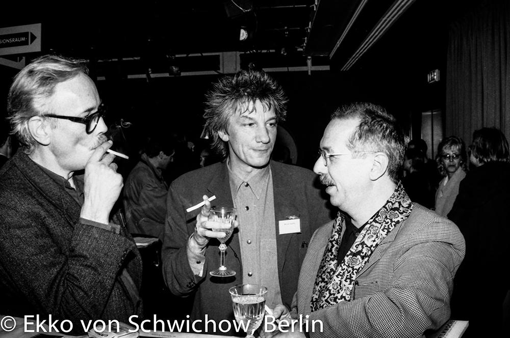 Werner Dütsch, Werner Ružička, Dieter Kosslick v.l. © Ekko von Schwichow