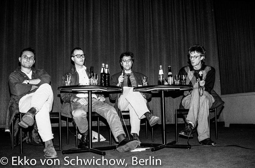 Christoph Schaub, Karl Kels, Michael Miersch, Werner Ružička v.l. © Ekko von Schwichow