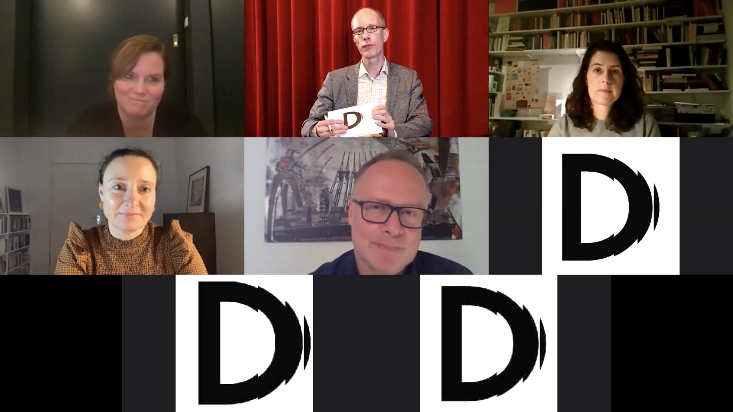 oben v.l. Eva Müller, Torsten Zarges, Hannah Pilarczyk, unten v. l. Jennifer Mival, Martin Spieker